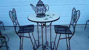 Bar Height Grape Bistro Table Set in Fort Campbell, Kentucky