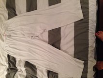 White Victoria's Secret lounge pants size medium but fit like a large in Yongsan, South Korea