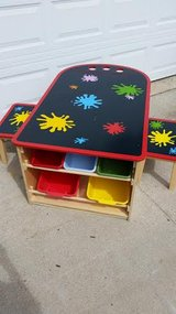 Deluxe Wood Art Table Set in Fort Campbell, Kentucky
