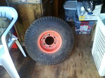 7.50-10 case tractor tire with rim in Hopkinsville, Kentucky
