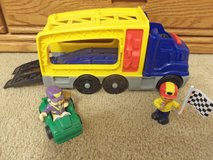 Fisher Price Little People Race 'N Load Car Carrier in Yorkville, Illinois