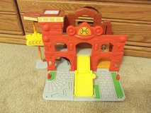 Playskool Wheel Pals Chuck Fold and Go Fire Station in Bolingbrook, Illinois