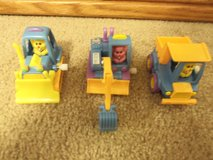 Wind Up Easter Bunny Driven Construction Vehicles in Bolingbrook, Illinois