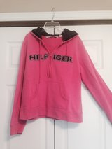 Pink Tommy Hilfiger Zip Hoodie in Fort Riley, Kansas