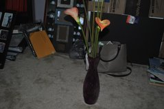 purple vase with artificial flowers in Jacksonville, Florida