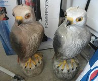 OWL FIGURES - SCARE OFF PIGEONS & CRITTERS in 29 Palms, California