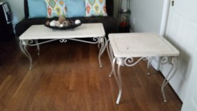 marble top center and side table in Travis AFB, California
