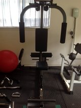 Lat / fly / row. machine + weights in Conroe, Texas