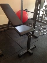 Weight bench with leg extension in Conroe, Texas
