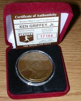 *** Ken Griffey Jr. Bronze Medallion Coin Highland Mint with COA*** in Fort Lewis, Washington