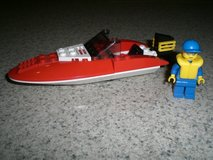 Lego #4641 City Speed Boat in Yorkville, Illinois