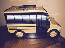Thomas Built Buses-School Bus-Metal Lunch Box in Oswego, Illinois