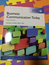 Business Communication Today UMUC text book in Okinawa, Japan