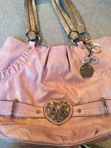 Authentic Kathy Van Zeeland Purse- Pink in Bolingbrook, Illinois