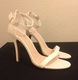 Ivory Ankle-Strap Sandals, sz 9 in Fort Campbell, Kentucky