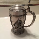 CLIPPER SHIP BEER STEIN PEWTER in Plainfield, Illinois