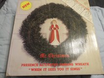 Motion Activated Singing Christmas Wreath - Decorations in Naperville, Illinois