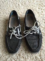 Women's Sperry Topsider Black Sparkle Size 6.5 in Westmont, Illinois