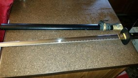 Wood Handle / Gold Trim Sword in Clarksville, Tennessee