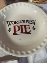Worlds best pie dish in Bolingbrook, Illinois