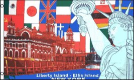 USA Flag - Liberty Island Flag - 3' x 5' - Polyester - New in Fort Lewis, Washington