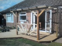 pergolas custom made for you in Lakenheath, UK