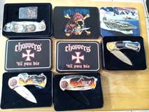 Collectible Tin Knives in Fort Bliss, Texas