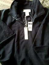 """New With Tags """"ease... """" relaxed lifestyle Black Lightweight Jacket in Bolingbrook, Illinois"""