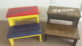 Childrens step stool in Nellis AFB, Nevada