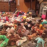 Beanie Baby collection in Byron, Georgia