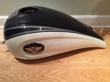 Polaris Victory Kingpin Gas Petrol Fuel Tank black/grey(motorcycle) in Glendale Heights, Illinois