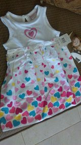 New 2t toddler heart dress in Alamogordo, New Mexico