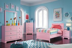 NEW 5 PC ASHLEY KIDS BED ROOM SET in Riverside, California