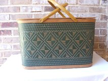 Vintage Picnic Basket in Naperville, Illinois