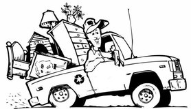 Hillside/Slopes Clean Up / Tree Service /  Moving Services / Trash Hauling Services in Camp Pendleton, California