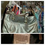 Authentic Brand New with Tags Gold Coach Purse in Lawton, Oklahoma