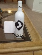 Chicago White Sox themed tiki torch in Joliet, Illinois