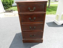 solid wood night stand ( vintage ) in Sandwich, Illinois