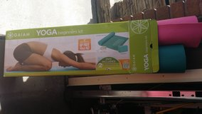 Yoga Kit W/Extra Mat - DVDs (older) - and Body Ball in Fort Carson, Colorado