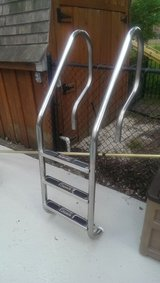 cascade stainless steel pool ladder in Chicago, Illinois