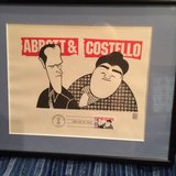Abbott & Costello stamp 1st day of issue in Lockport, Illinois