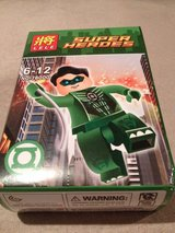 Green Lantern toy figurine in Okinawa, Japan