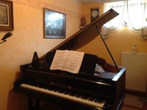 Baby Grand Piano made by Schiller in Spangdahlem, Germany