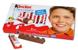 Kinder Chocolate Bars in Fort Knox, Kentucky