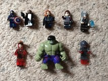 Avengers 2 Mini Figures Lot in Camp Lejeune, North Carolina
