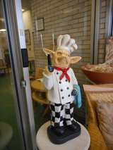 "Rare 30"" WHIMSICAL KITCHEN DINING ROOM FAT CHEF PIG in Chicago, Illinois"