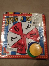 Spin a space  Carnival final consonant game in Okinawa, Japan