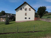 Very quiet single house with big fenced yard (6 bedrooms) in Spangdahlem, Germany