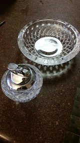 Crystal Ashtray / Lighter Set in Clarksville, Tennessee