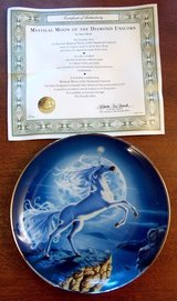 The Diamond Unicorn Collectors Plates 3 in Lockport, Illinois